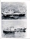 Soviet intelligence ships seen from US Patrol Plane, 1963.jpg