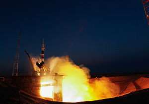 Soyuz TMA-07M - The TMA-07M spacecraft launches to the ISS on 19 December 2012.