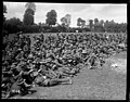 Spectators at the New Zealand Division boxing championships in France during World War I (21473648580).jpg