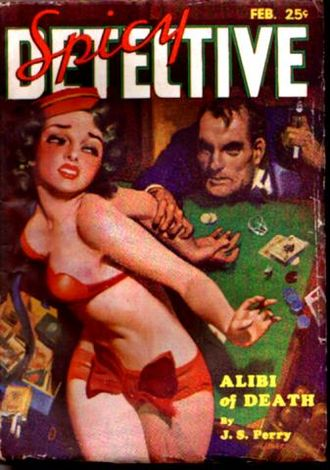 Harry Donenfeld - Image: Spicy Detective Stories February 1935