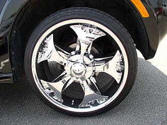 Spinner (wheel) - Spinner wheel