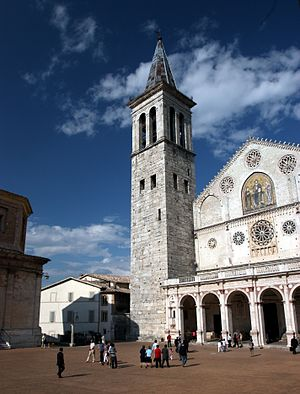 English: The cathedral of Santa Maria dell'Ass...