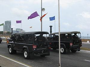 President's Guard - President's Guard VIP Escort Land Rovers