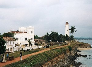 Rajasinha II of Kandy - The fort of Galle in southern Sri Lanka, first a Portuguese, then a Dutch stronghold