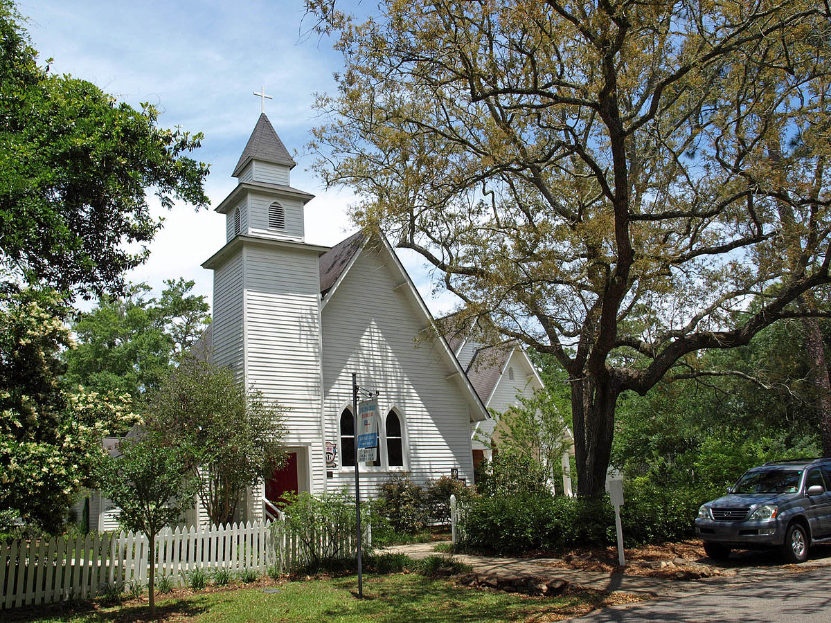 Lovely Churches In Mobile Al #1: 1200px-St._Paul%27s_Episcopal_Magnolia_Springs_May_2013_1.jpg