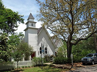 Magnolia Springs, Alabama - St. Paul's Episcopal Church
