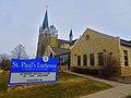 St. Paul's Evangelical Lutheran Church Wels - panoramio.jpg