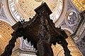 St. Peter's Basilica, St. Peter's Baldachin (Bronze Canopy over the High Altar), 1623-1634 (48466597272).jpg
