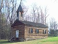 St. Severin's Old Log Church Apr 10.JPG