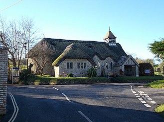 St Agnes' Church, Freshwater - Image: St Agnes' Church, Freshwater, Isle of Wight, UK