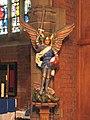St Barnabas, St Barnabas Road, Walthamstow, London E17 - Statue - geograph.org.uk - 1704557.jpg