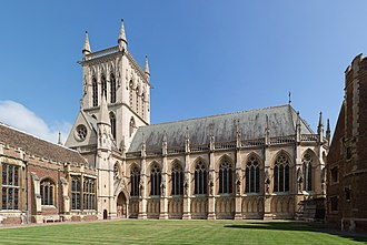 Ivory tower - An Ivory Tower at St. John's College, Cambridge