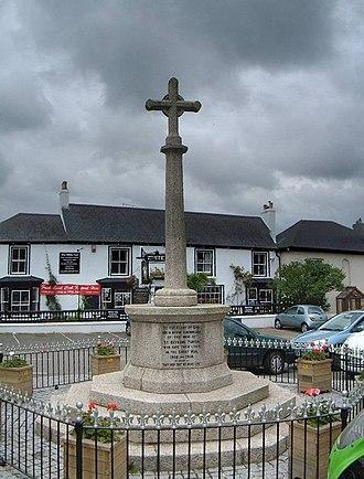 St Keverne - St Keverne war memorial