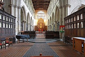 King's Lynn Minster - Image: St Margaret's Church, King's Lynn, Norfolk East end geograph.org.uk 1469985