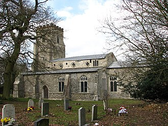 Bradenham, Norfolk - Image: St Mary's church geograph.org.uk 709930