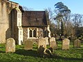 St Mary's churchyard and the south porch - geograph.org.uk - 1083225.jpg