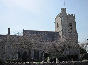 Grade I listed buildings in East Devon - Image: St Michael's Church, Axmouth