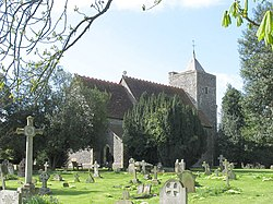 St Peter and St Paul, Luddesdown, Kent - geograph.org.uk - 325606.jpg