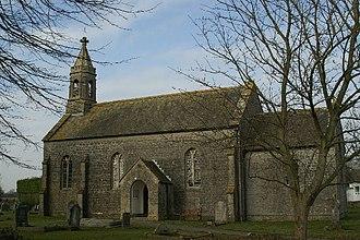 Burtle - Image: St Philips & St James Church. Burtle geograph.org.uk 117490