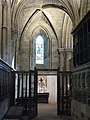 St Wilfrid's Chapel, North Choir Aisle, Hexham Abbey - geograph.org.uk - 738836.jpg