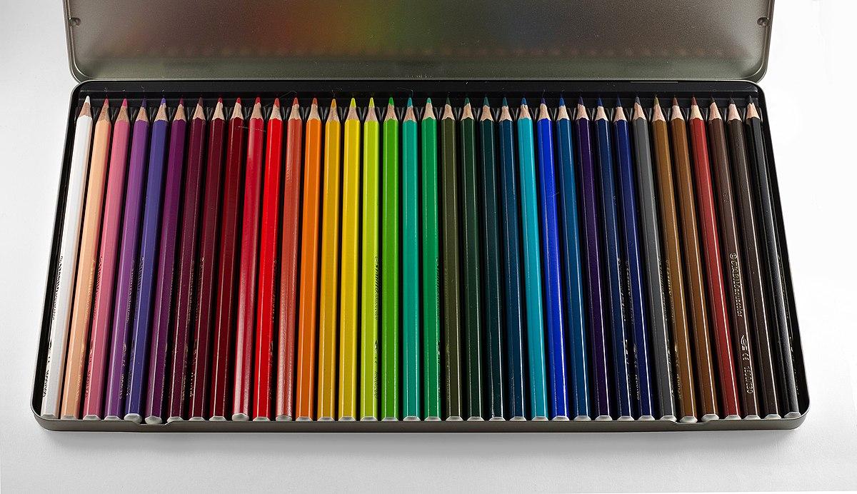 crayon aquarellable � wikip233dia