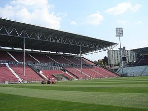 CFR Cluj - Dr. Constantin Rădulescu, view of the 2nd Sector from the pitch