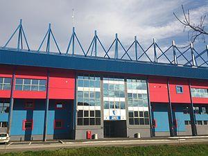 Stadion Metalac - Image: Stadion FK Metalac 6