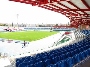 Neftyanik Stadium - Image: Stadium Neftyanick Ufa Ural