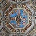 Stanza della Segnatura, detail keystone ceiling Vatican 18.jpg