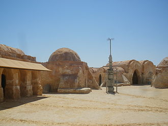 Star Wars: Episode I – The Phantom Menace - Remains of Mos Espa in the Tunisian desert, near Nafta.