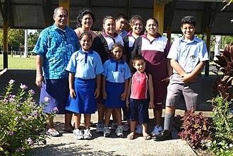 Samoans - Samoan family in 2003