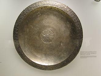 Mihrdat I of Iberia - The Bersoumas dish at the Georgian National Museum in Tbilisi.