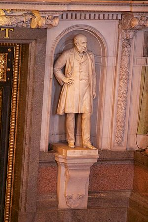 Edward Whitley (politician) - Statue in St George's Hall, Liverpool.