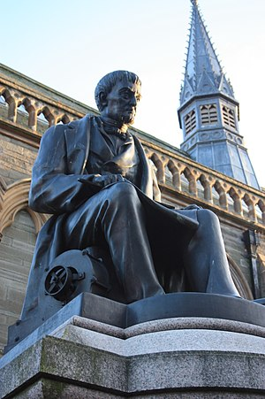 J and C Carmichael - Statue of James Carmichael, Dundee
