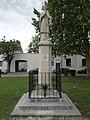 Statue of Saint John of Nepomuk (1856), Erzsébetváros, Kecskemét 2016 Hungary.jpg