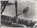 Steam trains on Harbour Bridge, 1932 (8283748856).jpg
