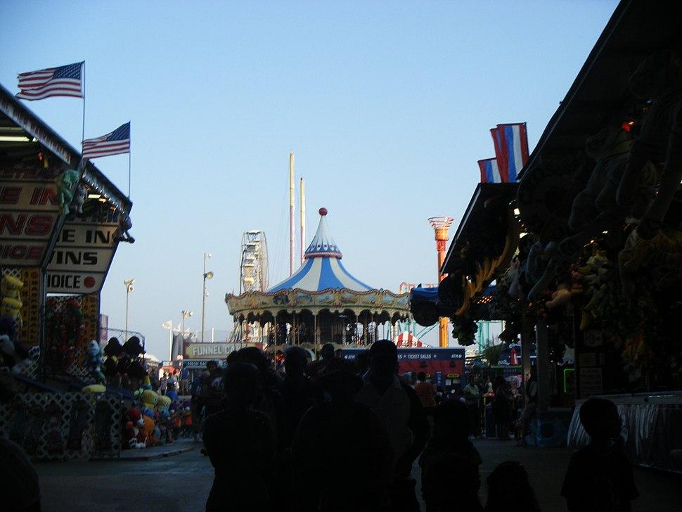 Steel Pier Atlantic City from entrance