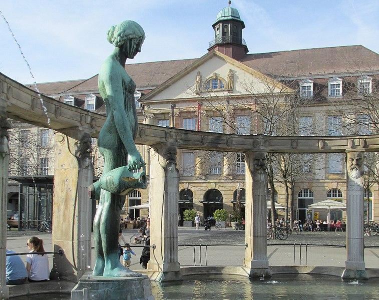 File:Stephanplatz - Karlsruhe - panoramio.jpg