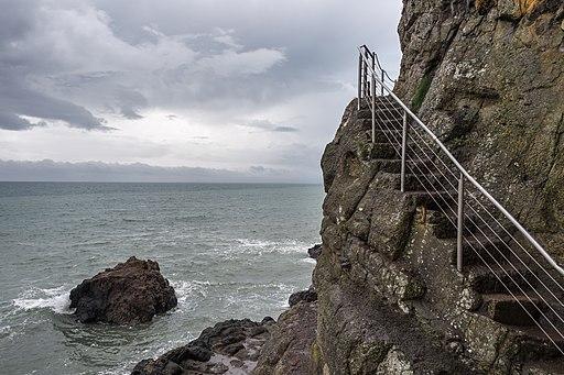 Steps - The Gobbins - Islandmagee, Northern Ireland, UK - August 14, 2017