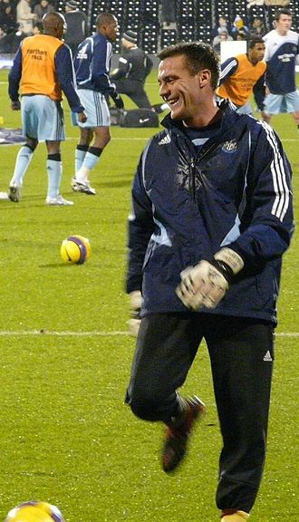 Steve Harper - Harper training with Newcastle United in 2007