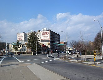 Bensonhurst, Brooklyn - Stillwell Avenue at Bay Parkway and Bay Ridge Parkway