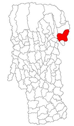 Vị trí của Stoenești