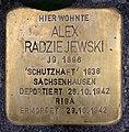 Stolperstein Friedrichshaller Str 28 (Schma) Alex Radziejewski.jpg