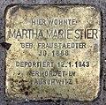 Stolperstein Helmstedter Str 27 (Wilmd) Martha Marie Stier.jpg
