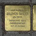 Stolperstein Querstraße 1 Salomon Sander.jpg