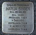 Stolperstein für Marija Singer.JPG