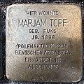 Stolperstein für Marjam Topf in Hannover.jpg