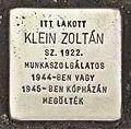 Stolperstein für Zoltán Klein.JPG