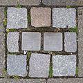 Stolpersteine Krefeld, Verlegestelle Seidenstraße 45.jpg