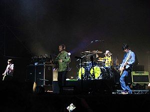 Reunion Tour (The Stone Roses) - The Stone Roses in concert in Milan, 17 July 2012